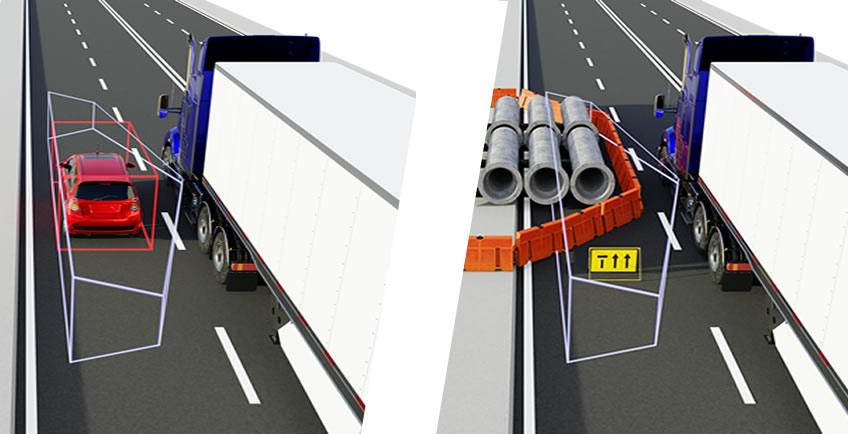 11highway speed blindspot detection